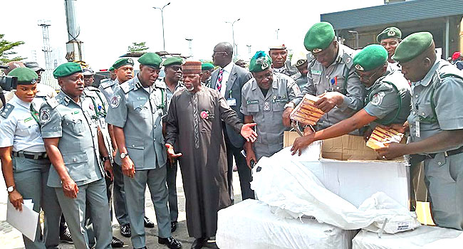 Customs Seize N7.3bn Worth Of Tramadol, Two Aircraft