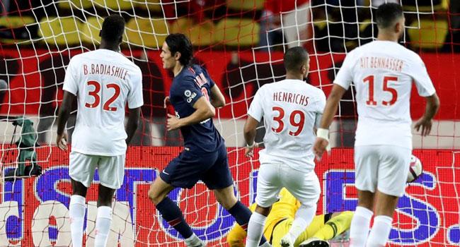 Cavani Bags Hat-Trick As Perfect PSG Thrash Monaco
