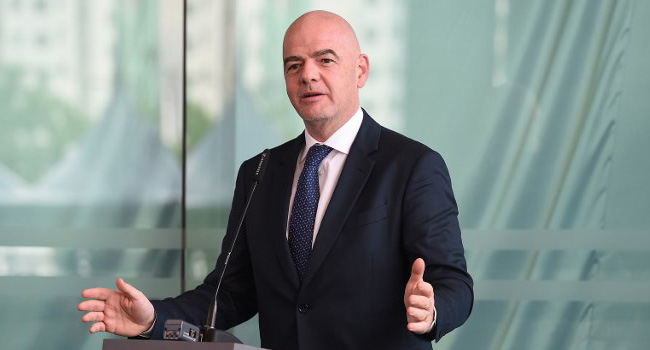 Racists Must Be 'Kicked Out' Of Stadiums – Infantino