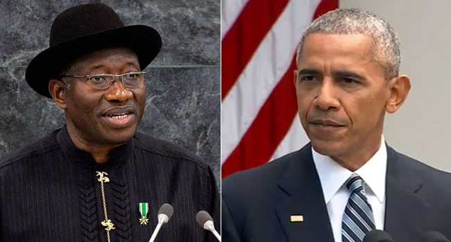 Jonathan Accuses Obama Of Working For His Defeat