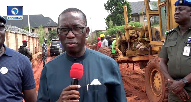 Okowa Promises To Take Advantage Of Dry Season To Complete Road Projects