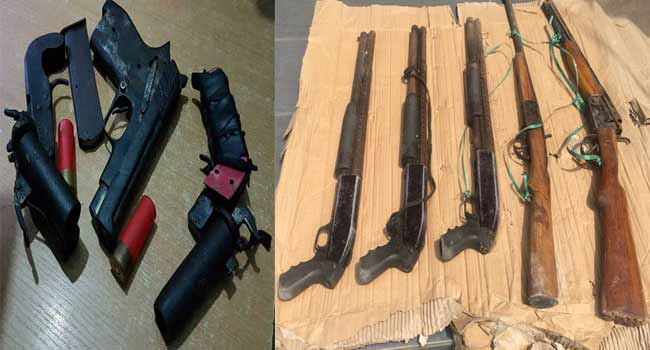 Police Arrest 11 Robbery Suspects, Recover Eight Guns In Lagos
