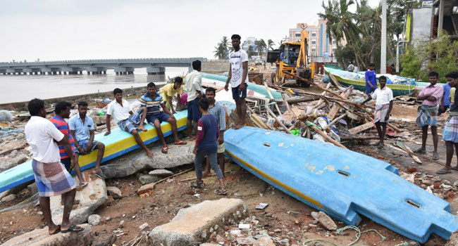 Death Toll In Southeast India Cyclone Hits 33