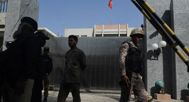 Four Killed In Chinese Consulate Attack