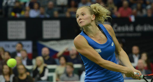 Siniakova Leads Czechs Past US To Fed Cup Title