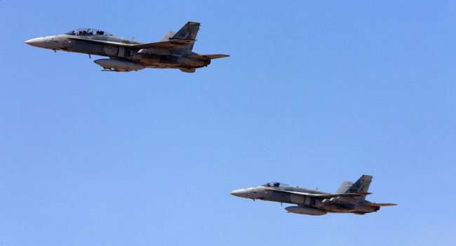 Israeli Jets Bomb Targets In South Syria