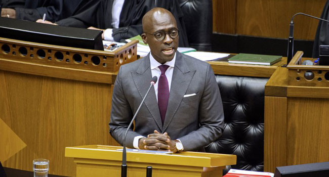 South Africa's Embattled Home Minister Resigns
