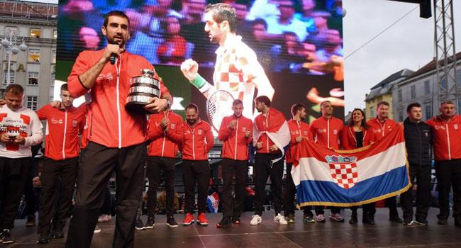 Croatia's Cilic Gets Heroic Welcome After Davis Cup Win