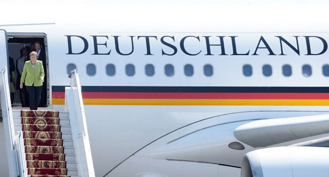 Merkel To Arrive Late For G20 Summit After Plane Malfunctions
