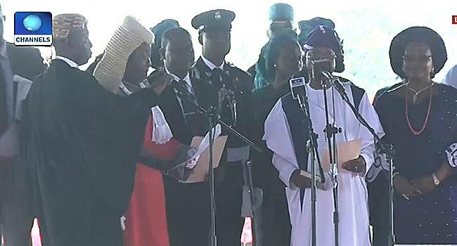 Gboyega Oyetola Sworn In As Osun Governor