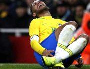 Neymar InjuredIn Brazil Friendly