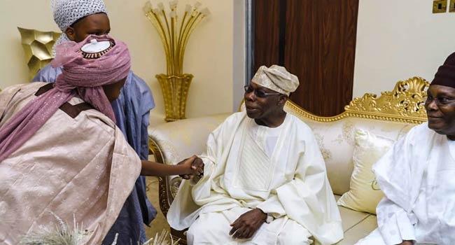 You Deserve To Be Celebrated, Obasanjo Tells Atiku
