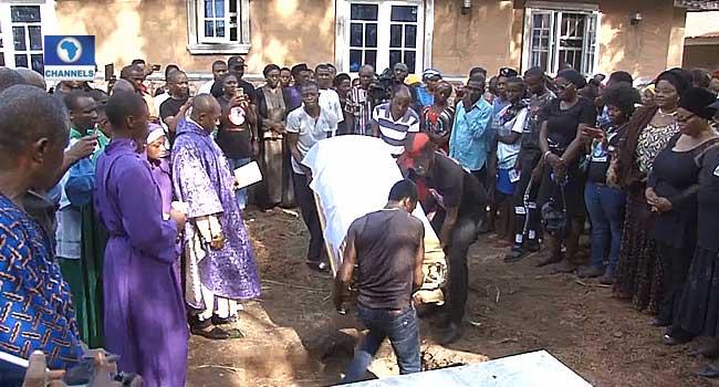 Rape Victim, Ochanya Ogbanje Buried Amidst Tears