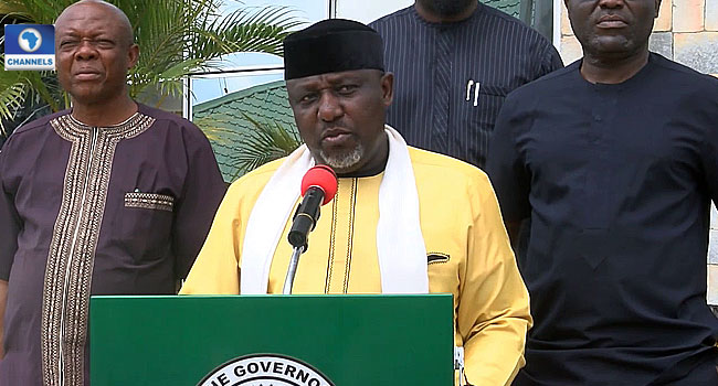 Okorocha Suspends Imo Accountant General Over Non-Payment Of Workers' Salaries