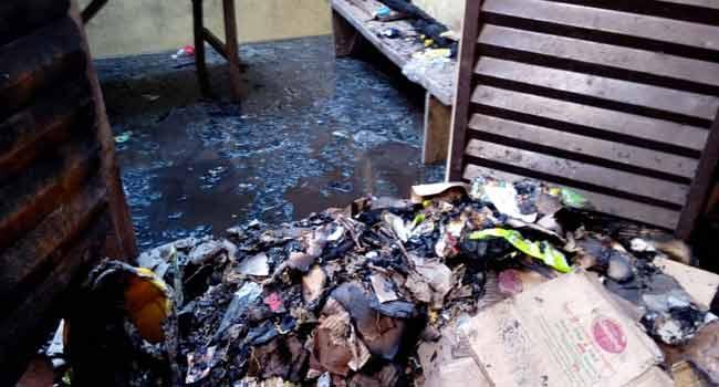 Fire Razes Shops In Akure