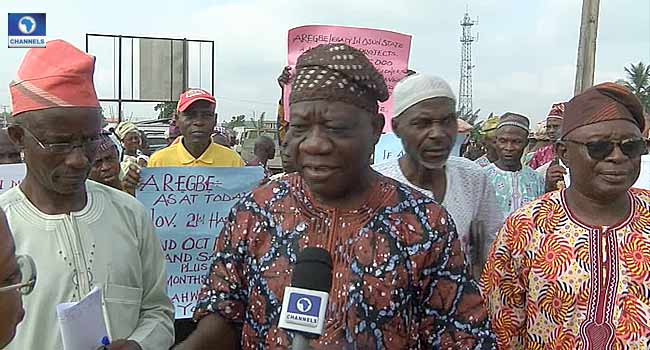 Osun Pensioners In Fresh Protest Over Non-Payment Of Entitlement