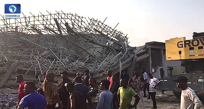 Port Harcourt Building Collapse Death Toll Rises To Seven, 38 Rescued