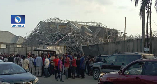 Many Trapped As Seven-Storey Building Collapses In Port Harcourt