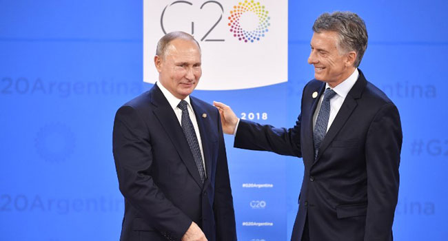 Putin At G20 Denounces 'Vicious' Sanctions