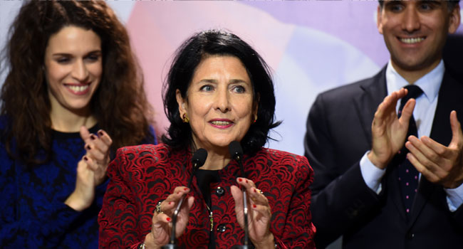 Georgia Elects Salome Zurabishvili As First Woman President