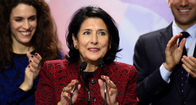 Salome Zurabishvili Elected As Georgia's First Woman President