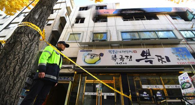 Seven Killed In Seoul Studio Complex Fire