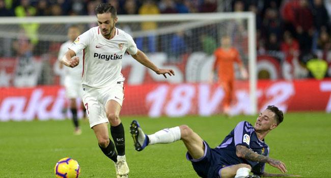 Sevilla Move Top Of La Liga After Beating Real Valladolid