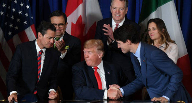US, Mexico, Canada To Sign Deal Finalising Trade Agreement