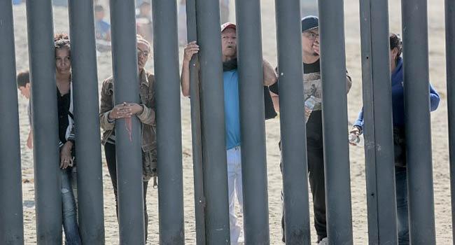 New Barricades At US-Mexico Border As Migrant Caravan Arrives