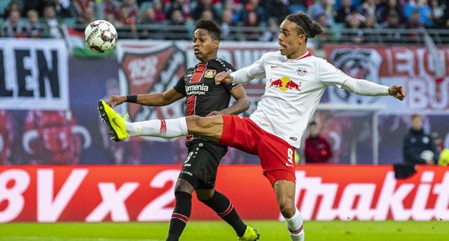 Poulsen Shines As Leipzig Climb Above Bayern Into Third