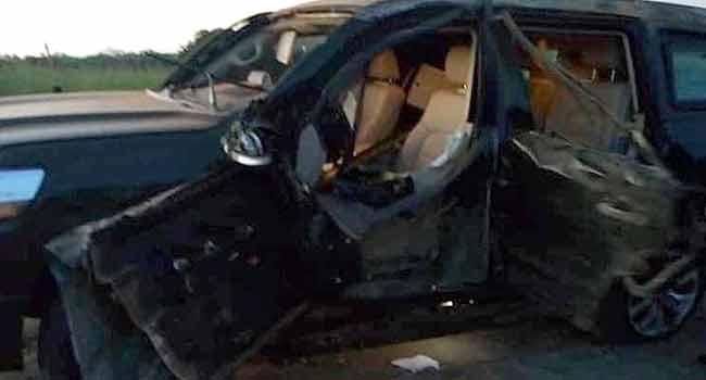 Buratai's Vehicle Involved In Accident