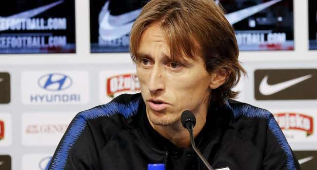 Modric Says Return Of Home Fans Will Help In Spain Clash