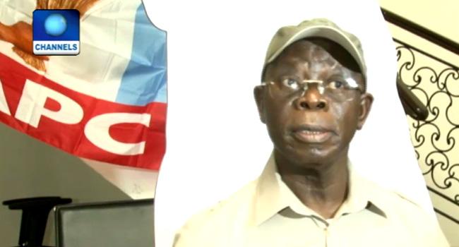 Imo Primaries: Oshiomhole Receives Court Order Asking APC To Disregard New Candidates