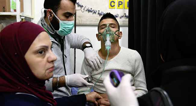 Syrians Struggle To Breathe After 'Toxic' Attack