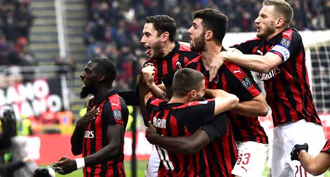 AC Milan Fight Back To Beat Parma, Climb Fourth