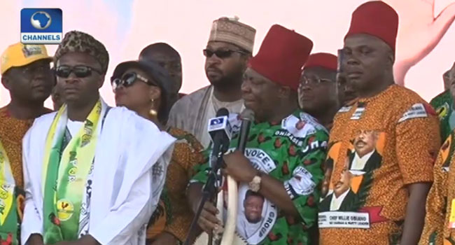 2019 Elections: APGA Launches National Campaign In Anambra