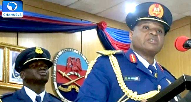Air Chief Asks Armed Forces To Intensify Efforts Against Insurgents