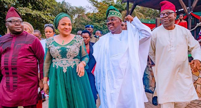 Christmas: Ajimobi Urges Citizens To Be Thankful