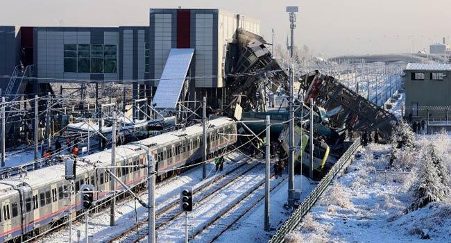 Nine Dead, 47 Injured In Ankara Train Crash