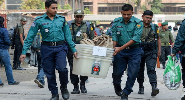 12 Killed As Violence Mars Bangladesh Election