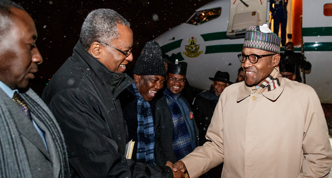 Buhari Arrives Poland For Climate Change Conference
