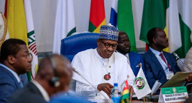 Buhari Hosts ECOWAS Leaders In Abuja
