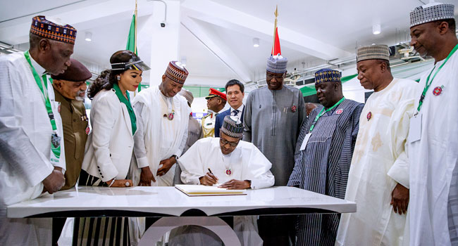 We Are Gradually Closing Infrastructural Deficit Bedevilling Our Country – Buhari