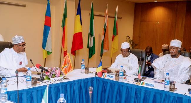Insurgency: Buhari, Other Lake Chad Basin Leaders Meet In Abuja