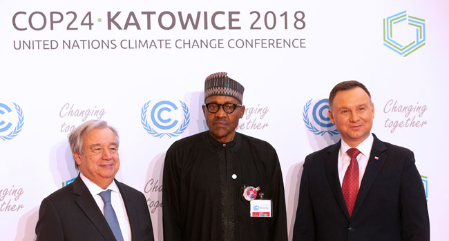 President Buhari Joins Other World Leaders At Opening Of COP24 Summit