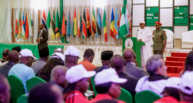 Buhari Asks African Youths To Lead, Win Fight Against Corruption