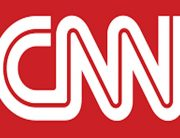 A photo showing the CNN logo.
