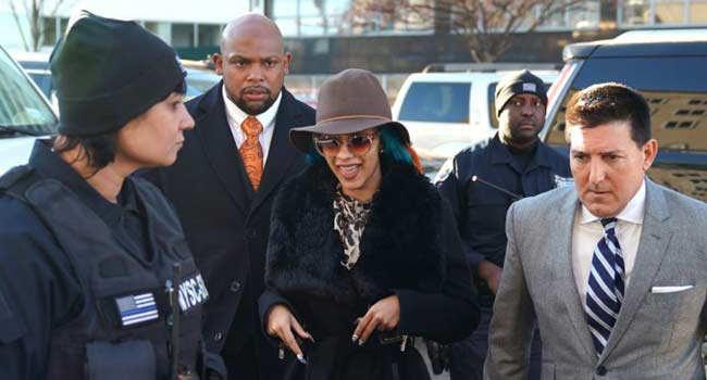 Cardi B In Court Over Queens Strip Club Brawl