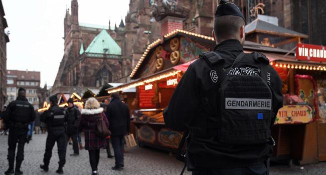 French Police Claim Shooting Of Christmas Market Gunman