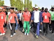 EFCC Holds 'Walk Against Corruption' In Abuja, Kaduna
